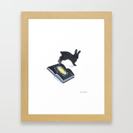 The part of the universe Framed Art Print
