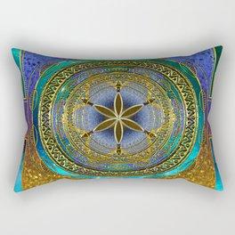 Yantra Mantra Mandala #1 Rectangular Pillow
