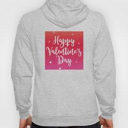 Happy Valentine's Day Hearts Hoody
