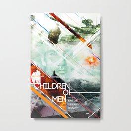 Visions of the Future :: Children of Men Metal Print