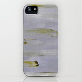 Green and Mauve iPhone Case