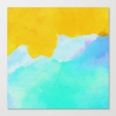Summer color mood Canvas Print
