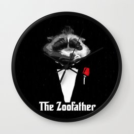 The Zoofather - Zootopia Wall Clock