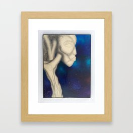 What I See When I Look At Trees, Color Framed Art Print