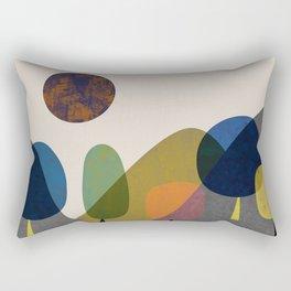 Mountains and trees2 Rectangular Pillow
