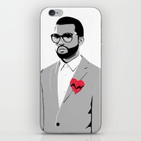 college iPhone & iPod Skins featuring College Dropout by M J Faint Design Co.