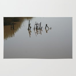 The river 's cryptic message Rug