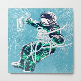 OrbitalFleets Crew Series: No.3 Metal Print