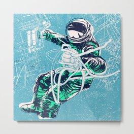 OrbitalFleets Crew Series: No.3 Metal Print