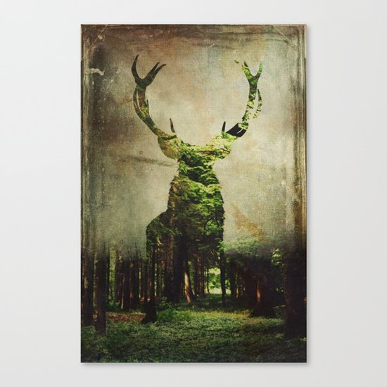 Ocolu Silvic Canvas Print