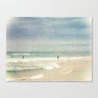 surf Canvas Prints featuring Surf by Dirk Wuestenhagen Imagery