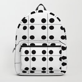 Geometric Pattern #70 (domino) Backpack