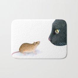 Cat 604 mouse Bath Mat