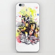 Uma Thurman From Pulp Fiction iPhone & iPod Skin