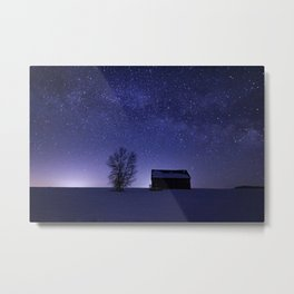 Adirondack Milkyway over Norman Ridge Metal Print