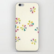 Colour Wheels iPhone & iPod Skin