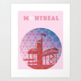 Montreal - Biosphere Art Print