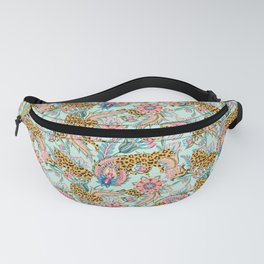 May The Jungle Be With You #pattern #illustration Fanny Pack