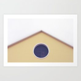 Meeting point Art Print