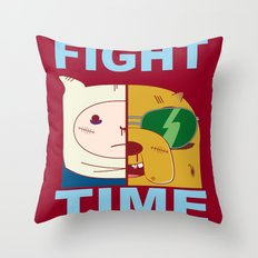 Fight Time Throw Pillow