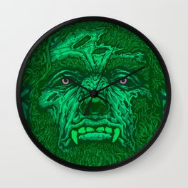 Bloody Werewolf Wall Clock