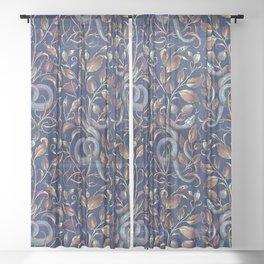 Snake Sheer Curtain