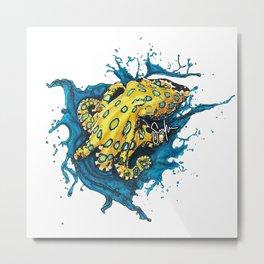 Blue-ringed octopus Metal Print