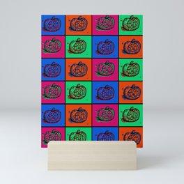 Pop Art Pumkins Mini Art Print