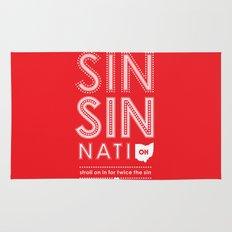 Locals Only — Sinsinnati, OH Rug