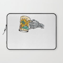 Beer and Beach Laptop Sleeve
