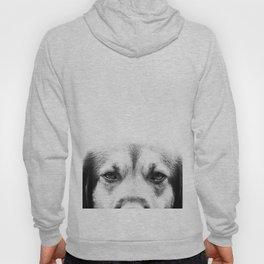 Dog portrait in black & white Hoody