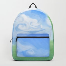 Outdoor Playing Girl Backpack