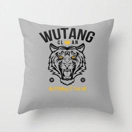 WuTangClan Tiger Throw Pillow