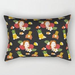 HAWAIIAN SUSAN SARANDON  Rectangular Pillow