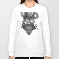 constellations Long Sleeve T-shirts featuring Constellations by Antonio Caparo