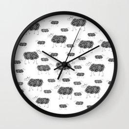 Mouton Bê Wall Clock