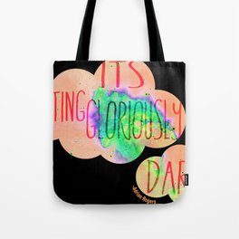 Gloriously dark Tote Bag