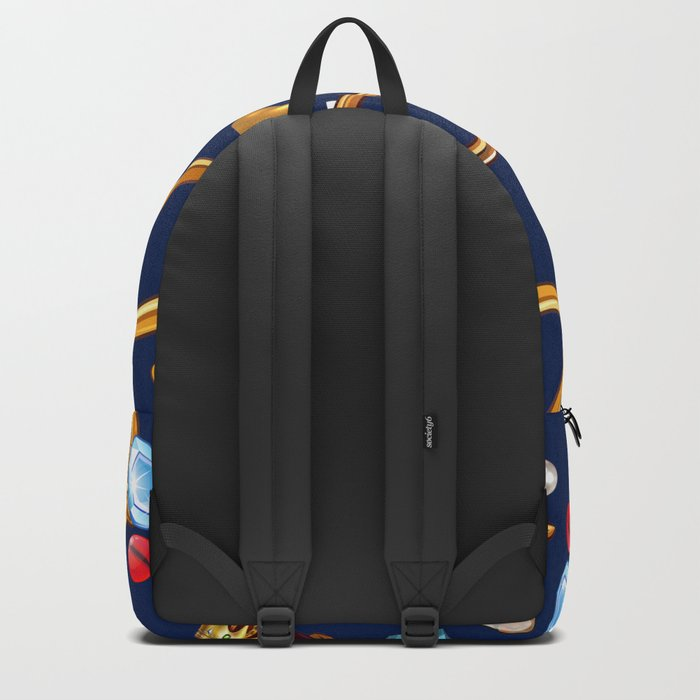 gold party Backpack