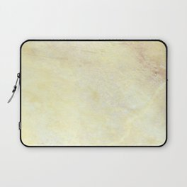 Marble with Okra Threads Laptop Sleeve