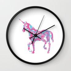 Unicorn's Breakfast Wall Clock