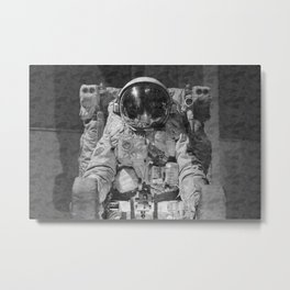 Astronaut - 2020 Nasa Spacestation - Outer Space Galaxy Metal Print