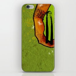 For you - green iPhone Skin