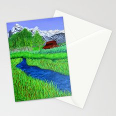 Grand-Teton barn Stationery Cards
