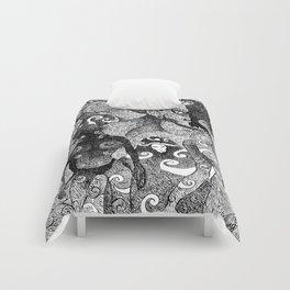 NONSENSE ILLUSTRATION III Comforters