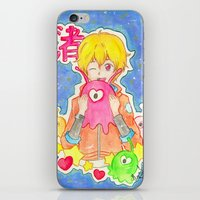 iwatobi iPhone & iPod Skins featuring Astronaut Nagisa by Lilolilosa