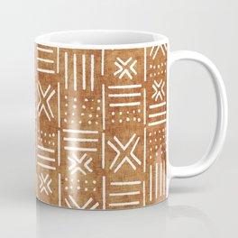 Mudcloth - tribal decor, mud cloth decor, mud cloth bedding, mudcloth curtains, rust, rust color, trendy decor Coffee Mug