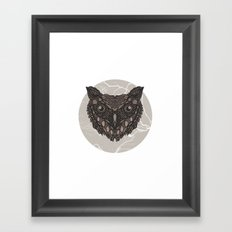 Im not a barn owl but i would like to be Framed Art Print
