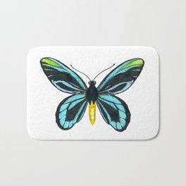 Queen Alexandra' s birdwing butterfly Bath Mat