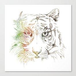 Sumatran Tiger VS Palm Oil Canvas Print