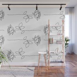 Thorns Wall Mural